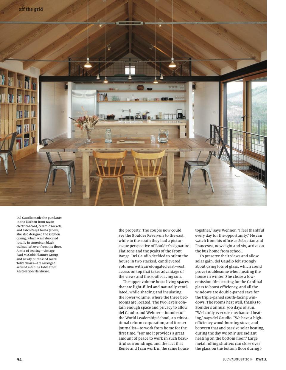 Dwell | Press for Renée del Gaudio Architecture.