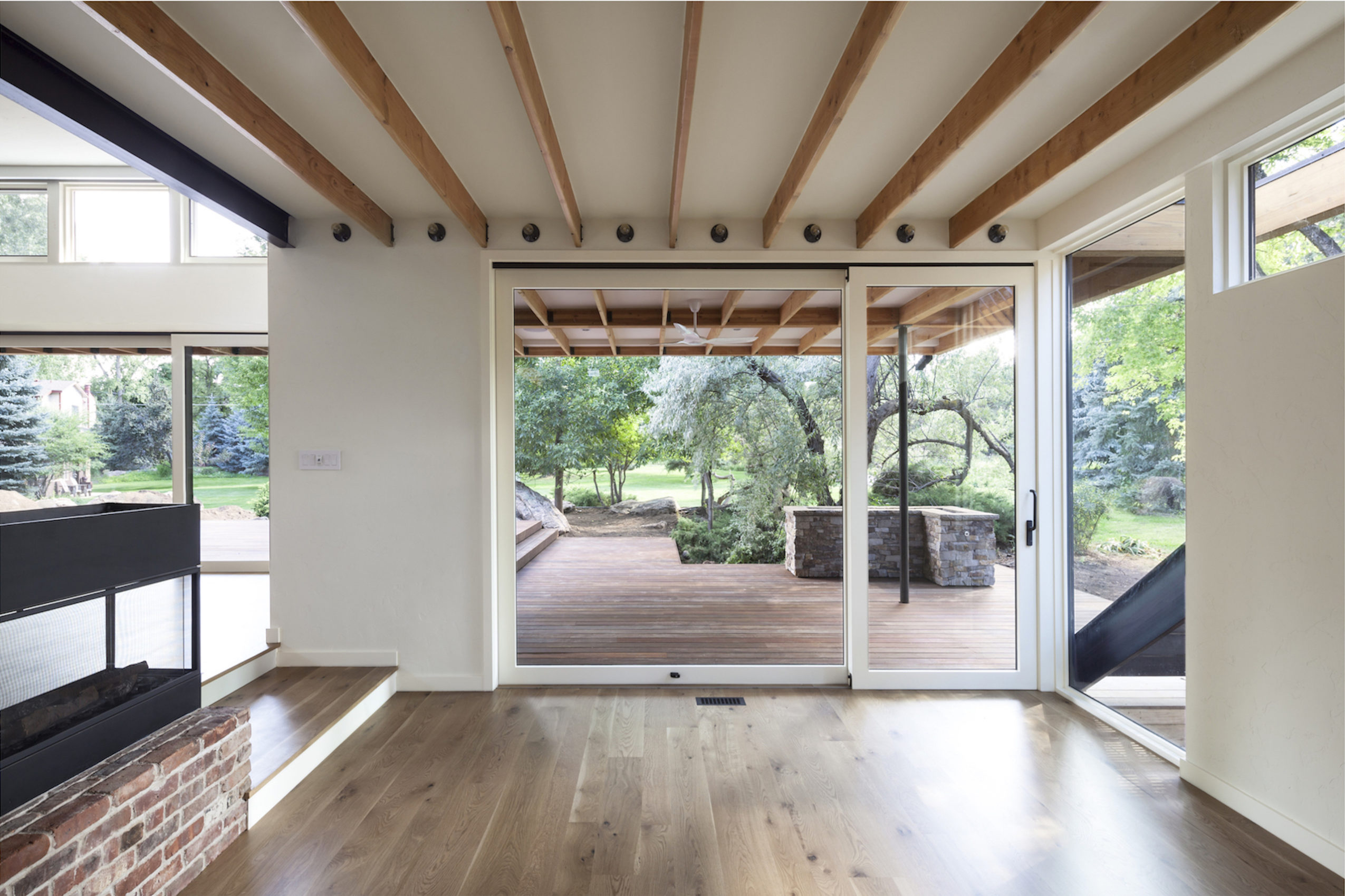 Interior of Inside-Out House by Renée del Gaudio Architecture