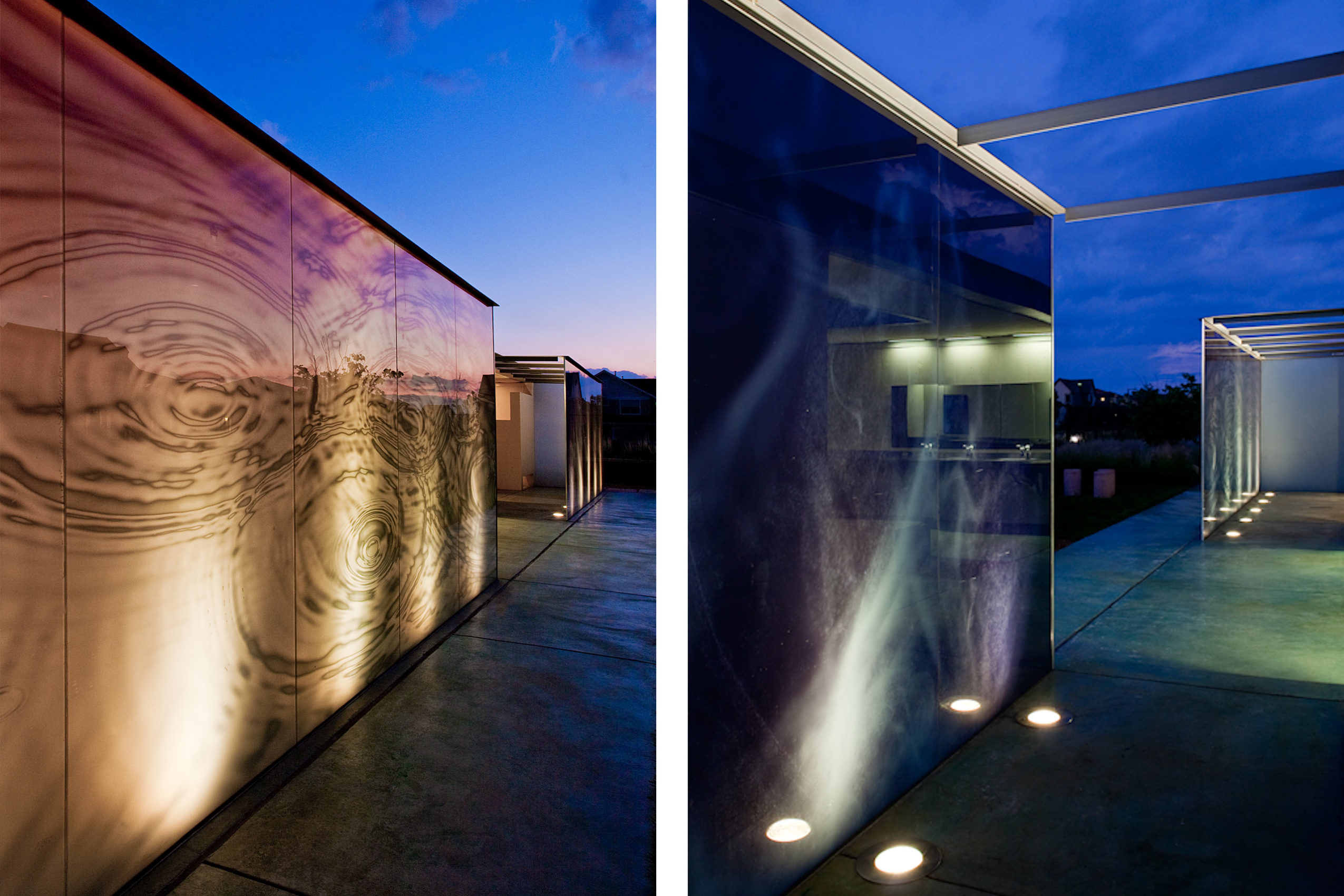 Poolhouse 3 by Semple Brown Design and Renée del Gaudio. Photographic panels by Urban Rock Design of Los Angeles.