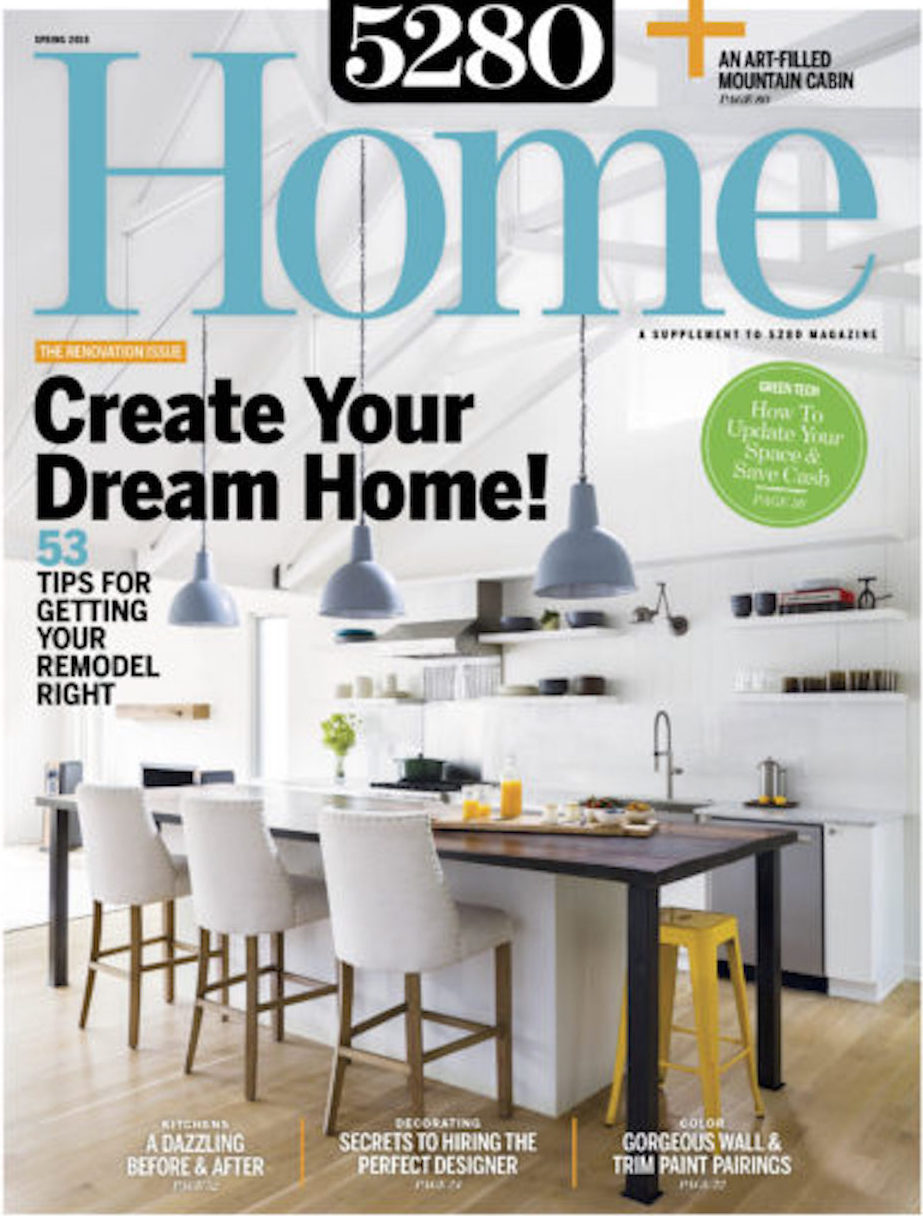 5280 Home magazine featuring Renée del Gaudio Architecture.