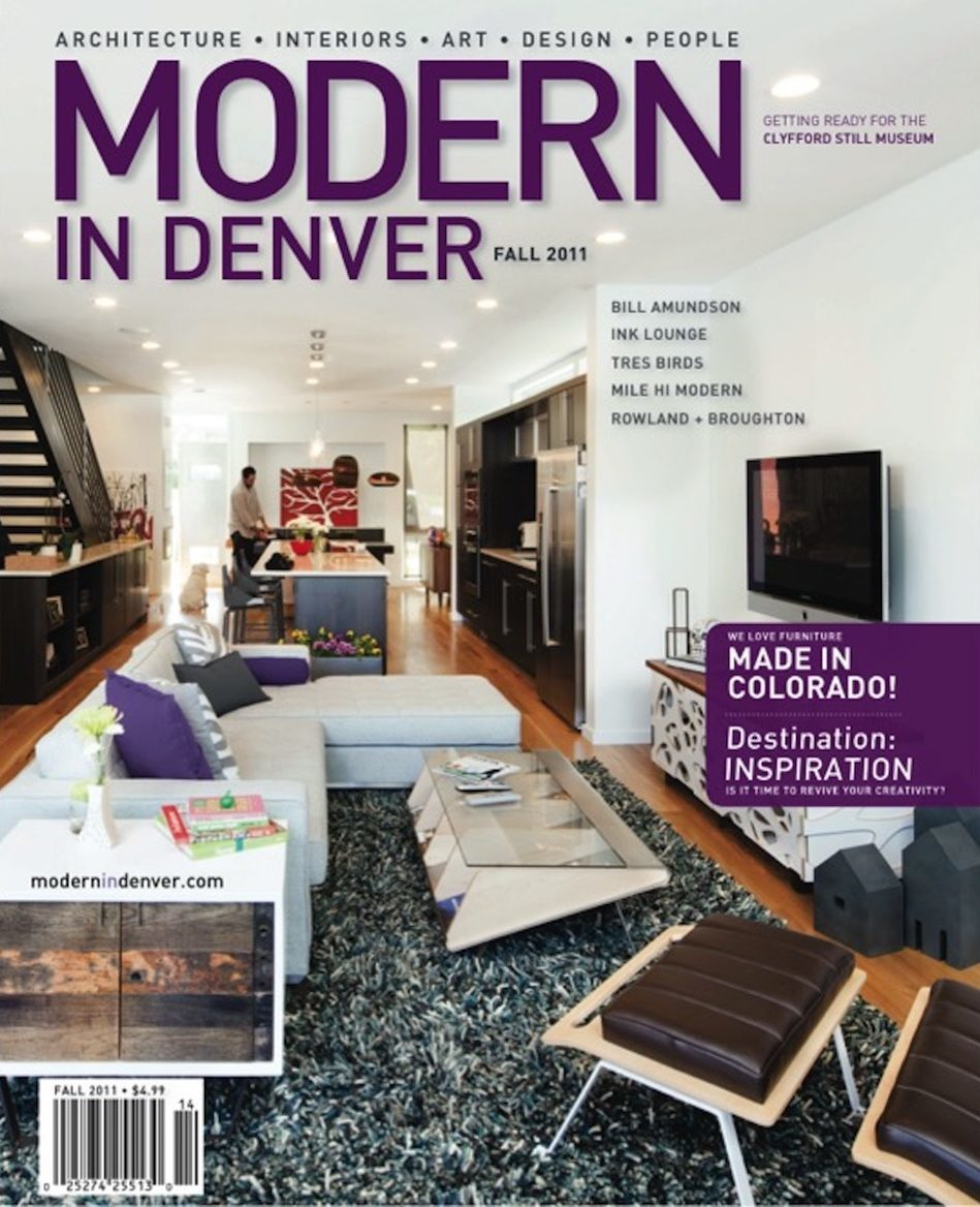 Modern In Denver magazine featuring Renée del Gaudio Architecture.