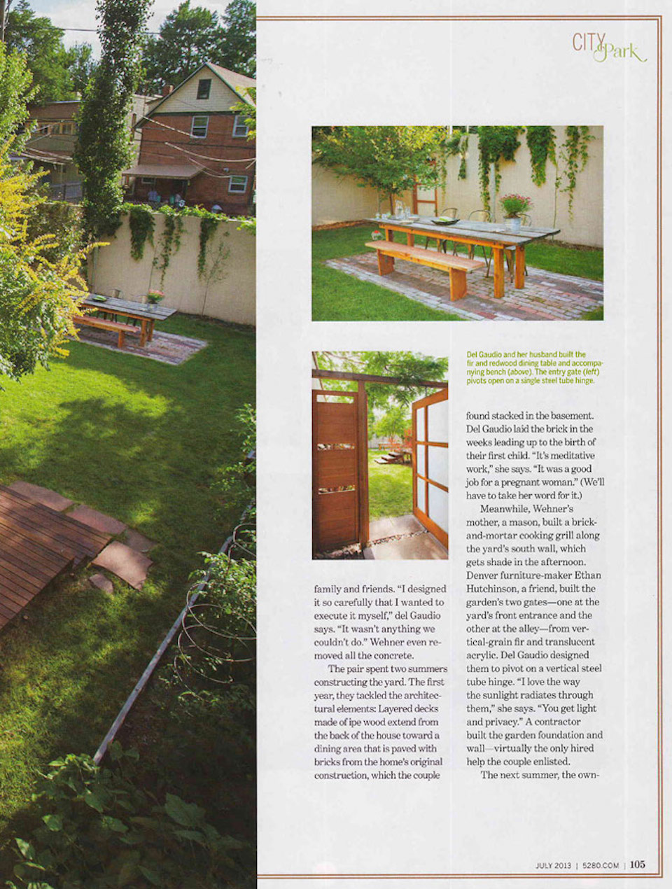 5280 Top of the Town   Press for Renée del Gaudio Architecture.