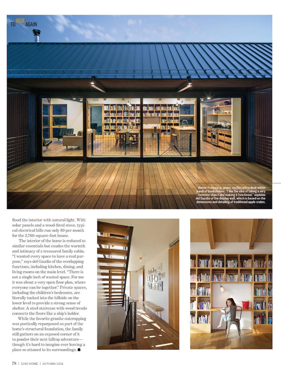 5280 Home | Press for Renée del Gaudio Architecture.