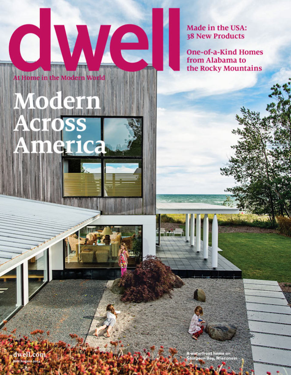 Dwell magazine press on Renée del Gaudio Architecture.