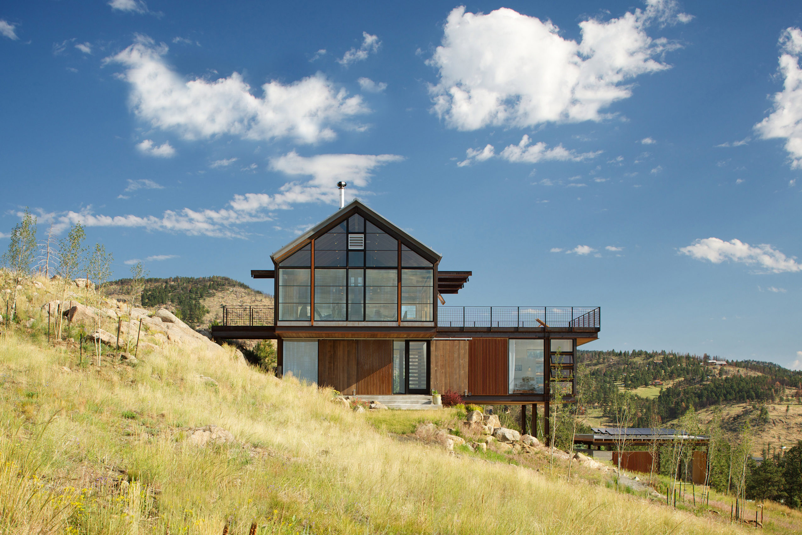 Sunshine Canyon House by Renée del Gaudio Architecture.