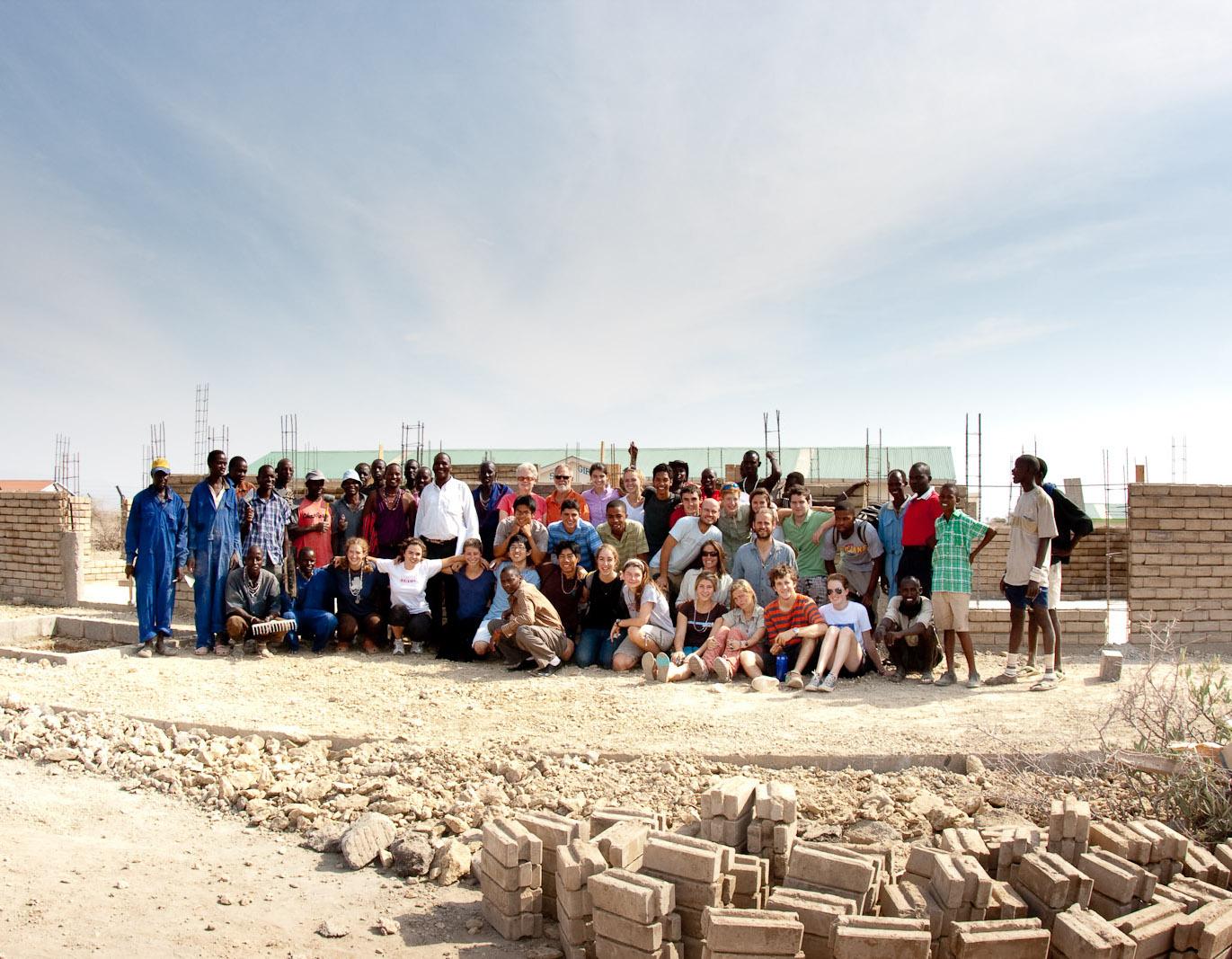 Kenya pro bono design project by Renée del Gaudio Architecture.