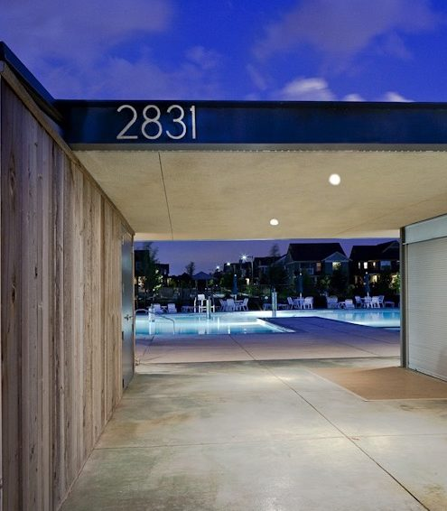 Poolhouse 3 by Renée del Gaudio for Semple Brown Design