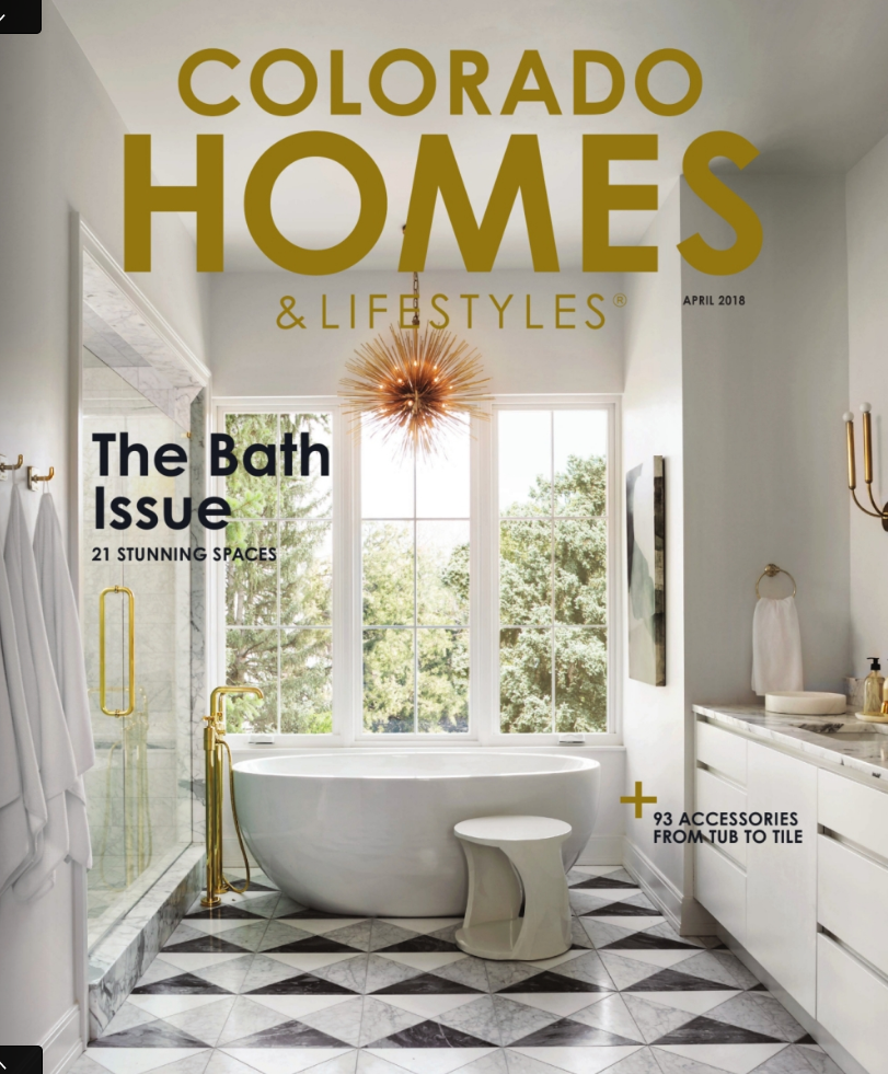 Colorado Homes & Lifestyles magazine press for Renée del Gaudio Architecture.
