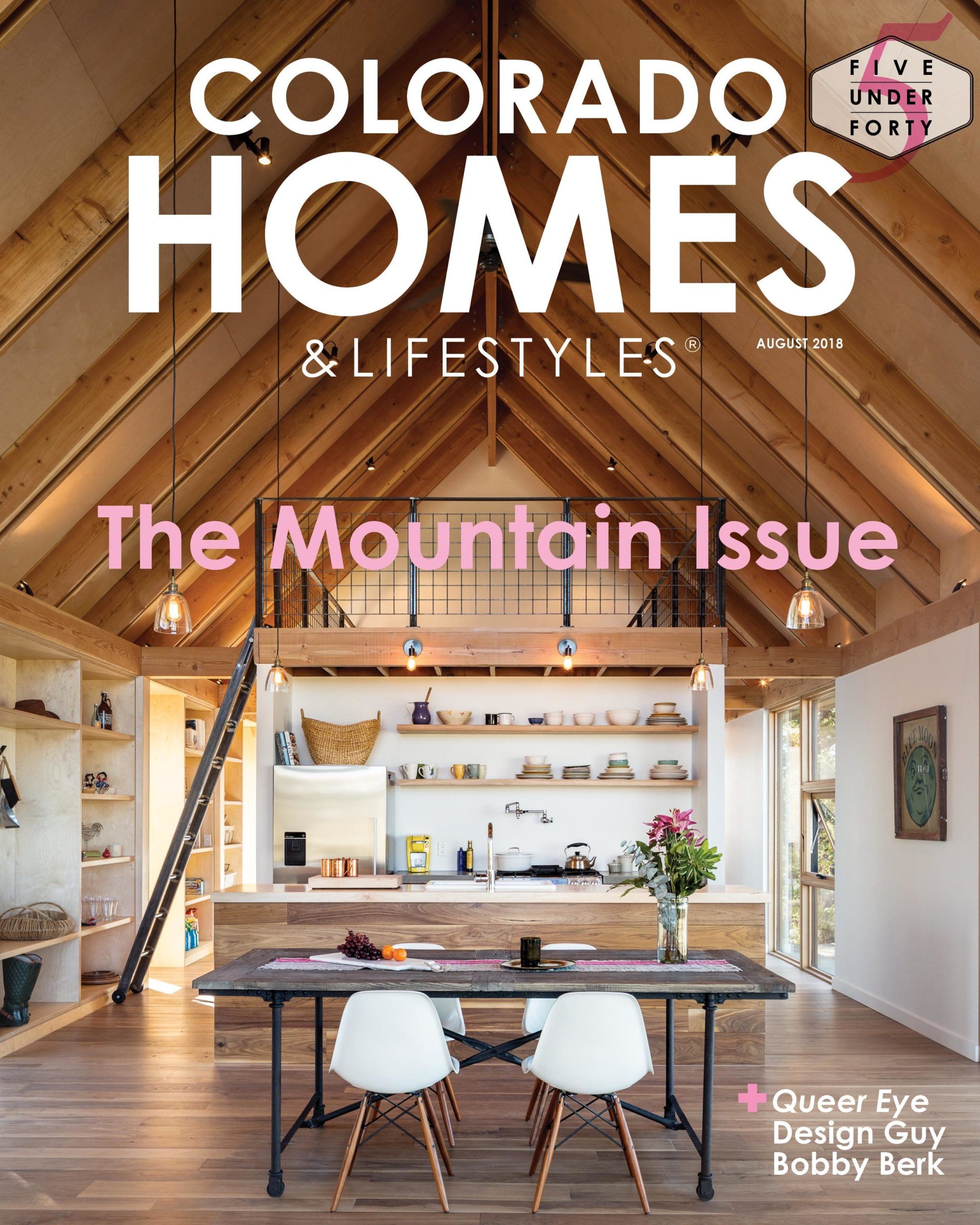 Colorado Homes & Lifestyles magazine press on Renée del Gaudio Architecture.