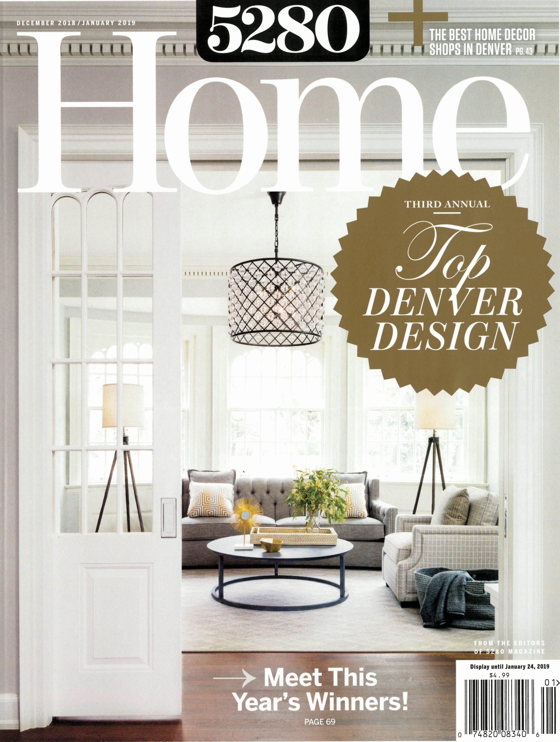 5280 Home magazine press for Renée del Gaudio Architecture.