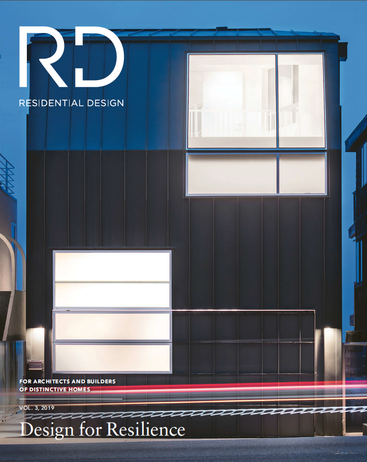 Residential Design magazine press on Renée del Gaudio Architecture.