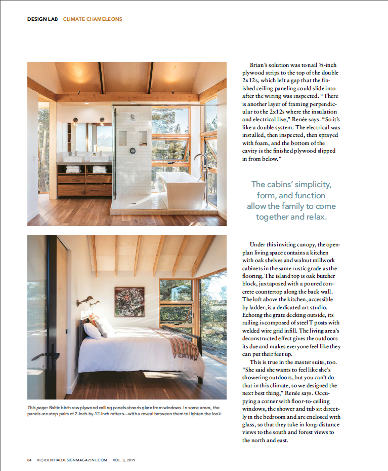 Residential Design | Press for Renée del Gaudio Architecture.