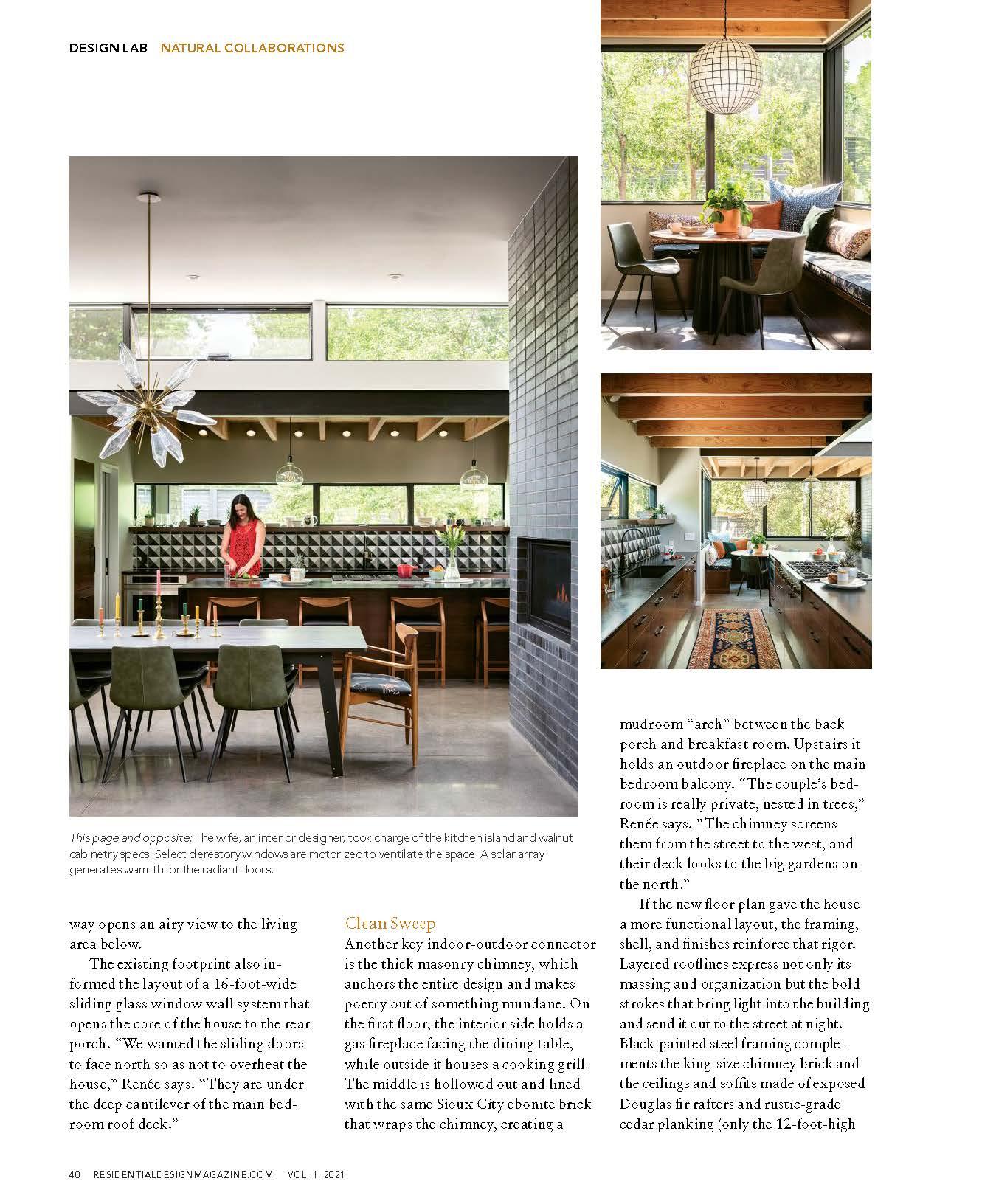 Residential Design Mariposa | Press for Renée del Gaudio Architecture.