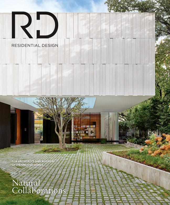 Residential Design Press Mariposa Garden House